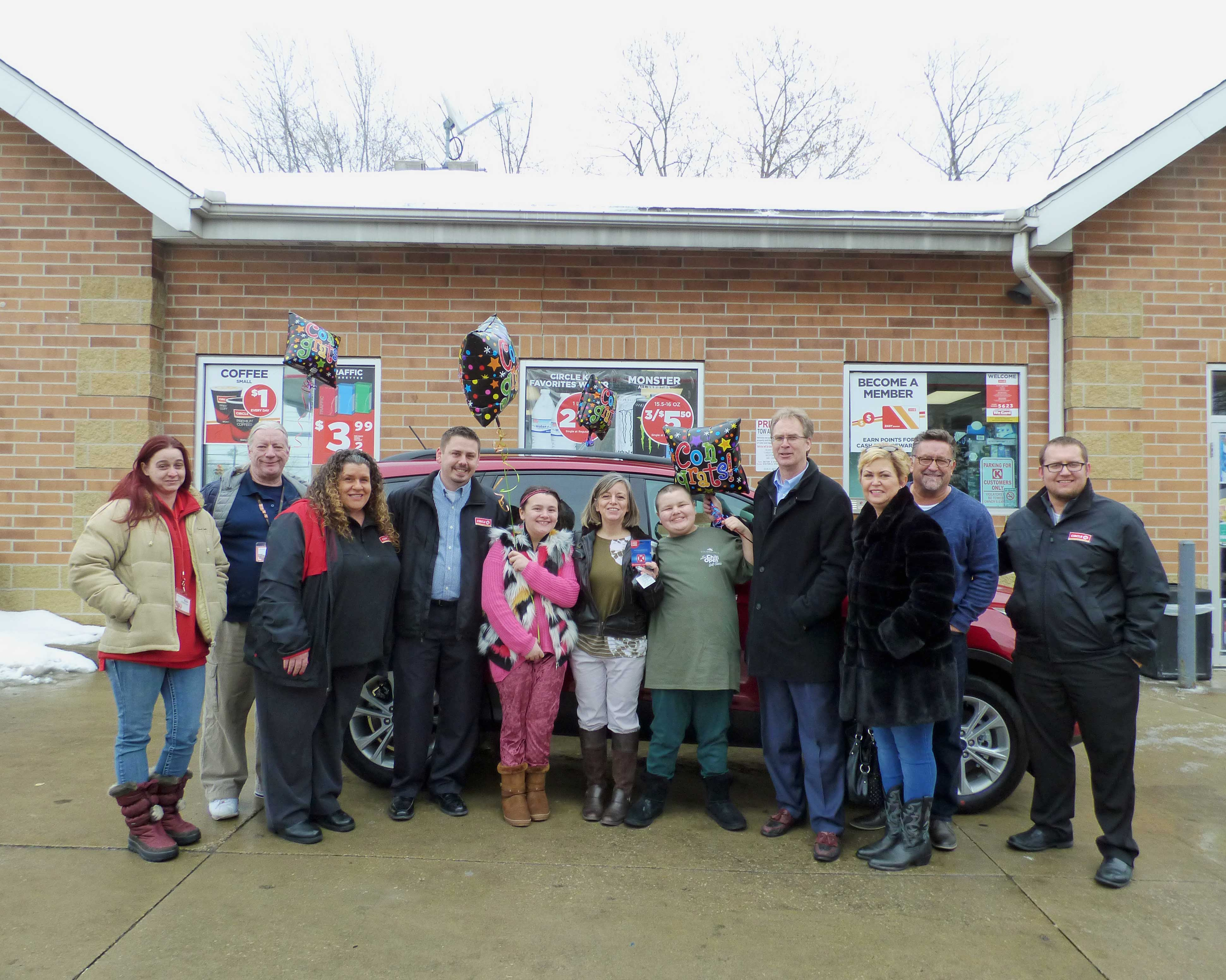 Bedford Resident, Gabi Little, Wins A New Car From Circle K